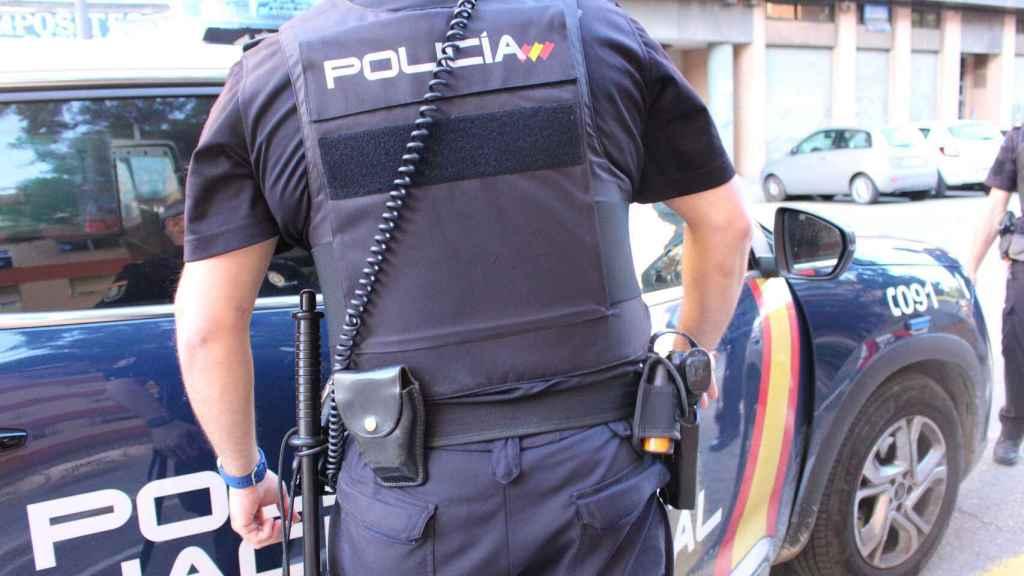 Imagen de archivo donde aparece un Policía Nacional.