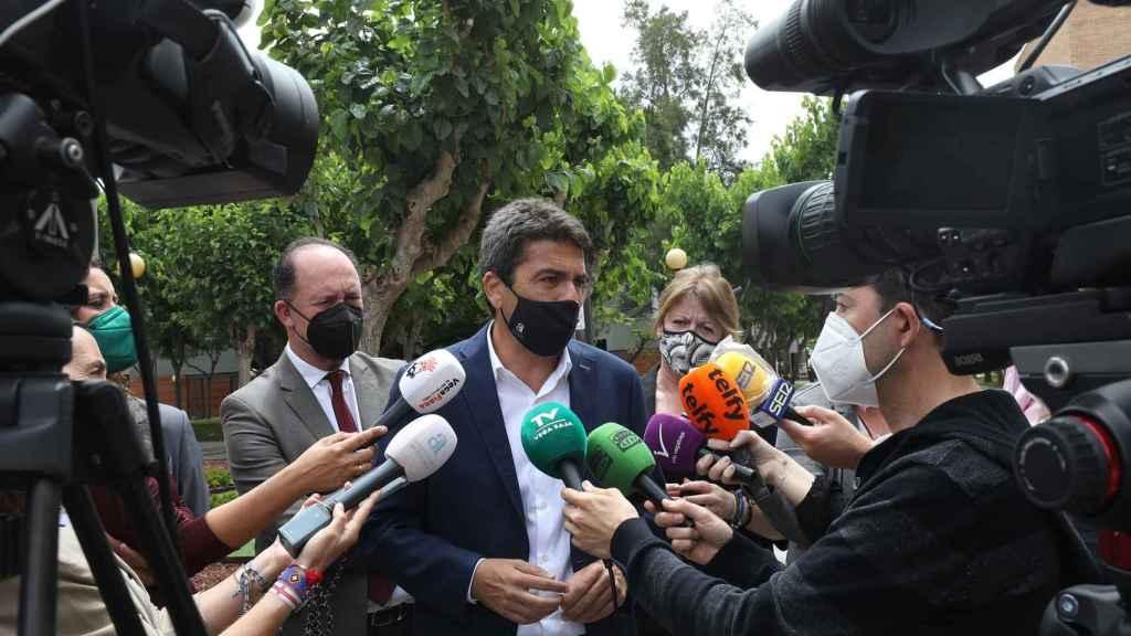 Mazón pide una reflexión seria sobre los juicios paralelos tras la sentencia del PGOU de Alicante.