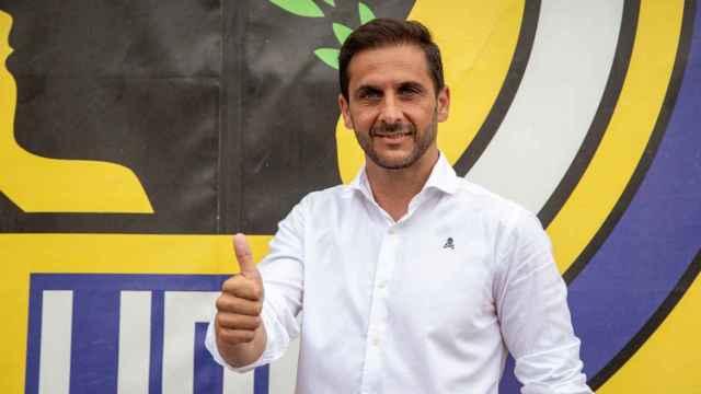El nuevo entrenador del Hércules, Sergio Mora.