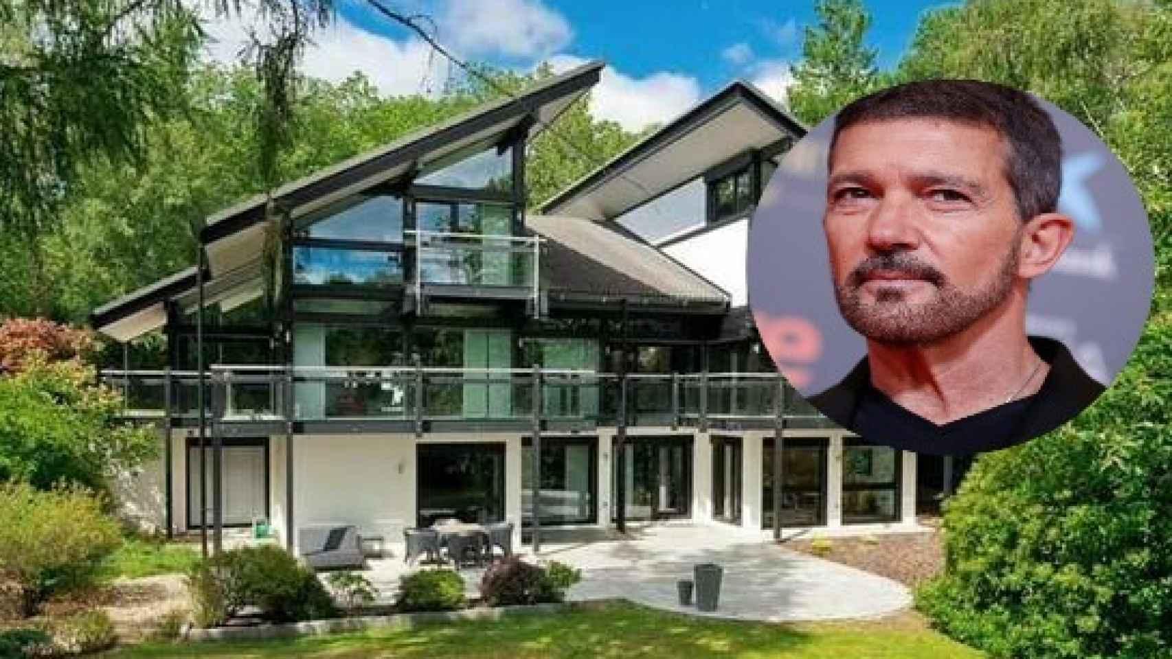 La casa de lujo prefabricada de Antonio Banderas.