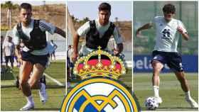 Ceballos, Asensio y Vallejo, en un collage