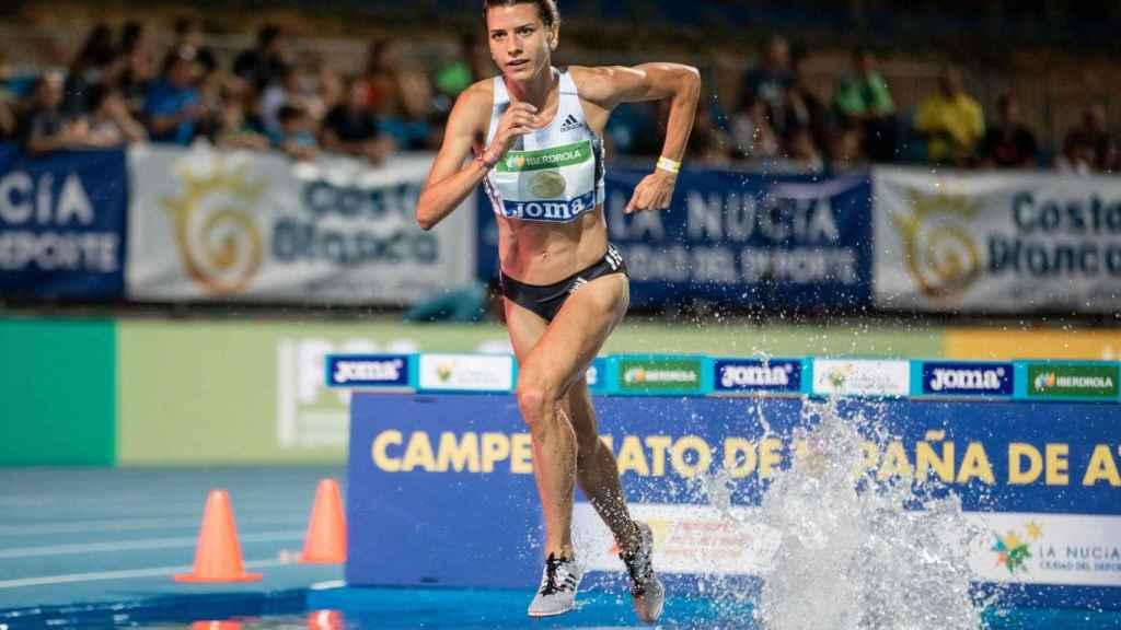 Irene Sánchez-Escribano, atleta toledana