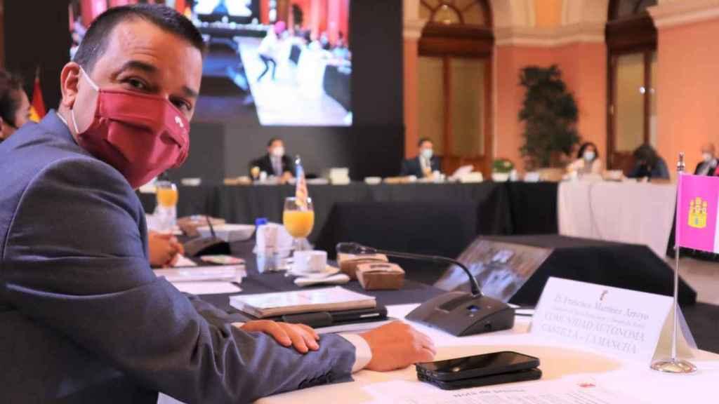 Francisco Martínez Arroyo este miércoles en la conferencia sectorial (JCCM)