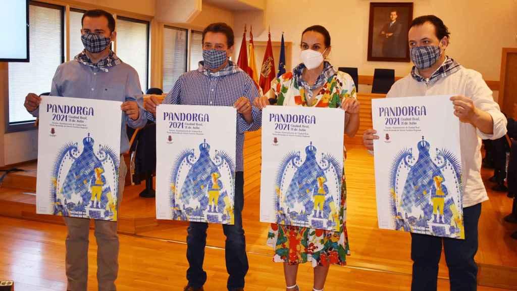 Presentación de la Pandorga 2021. Foto: Ayuntamiento de Ciudad Real
