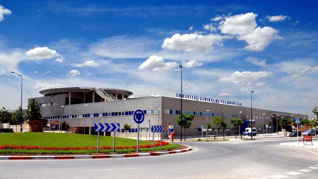 El hospital de Villarrobledo, donde ha sido trasladado el herido