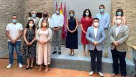 Equipo de gobierno del ayuntamiento de Toledo, con Milagros Tolón al frente