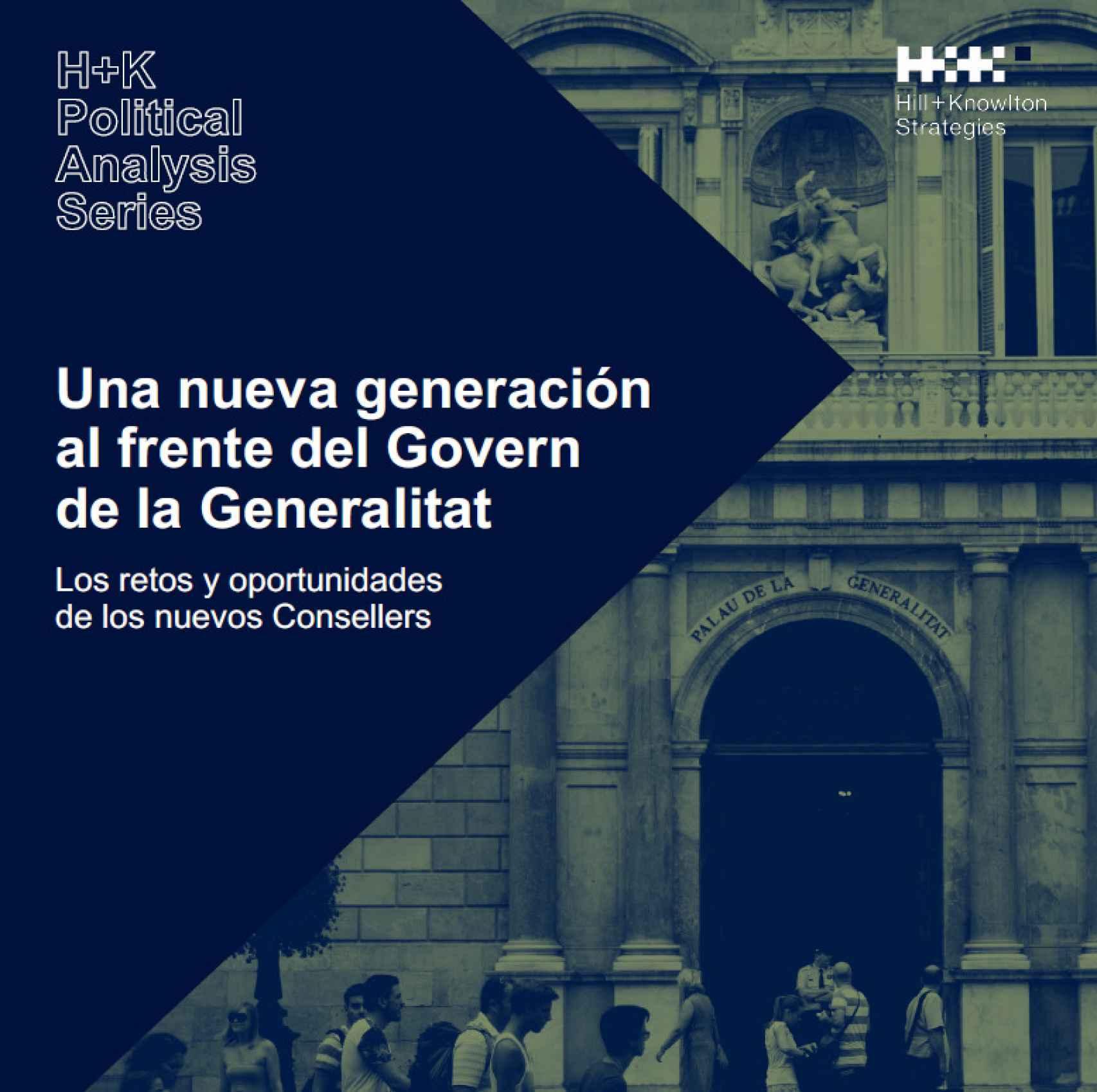 Informe del nuevo 'Govern', dirigido por Francesc Vallès, director de la consultora H+K.