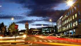 Sedes de Mercedes y Volkswagen en Alcobendas. FOTO: Alcobendas Hub.