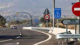 Imagen de los accesos al PTA de Málaga.