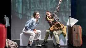 Una imagen del espectáculo de Las niñas de Cádiz.