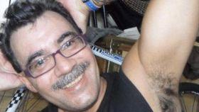Juan Carlos Aluz en una foto difundida por su familia.