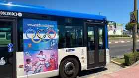Promoción de Talavera Olímpica en los autobuses urbanos
