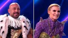 'Mask Singer': Pepe Reina se desenmascara como el invitado Pingüino y María Zurita como Dragona