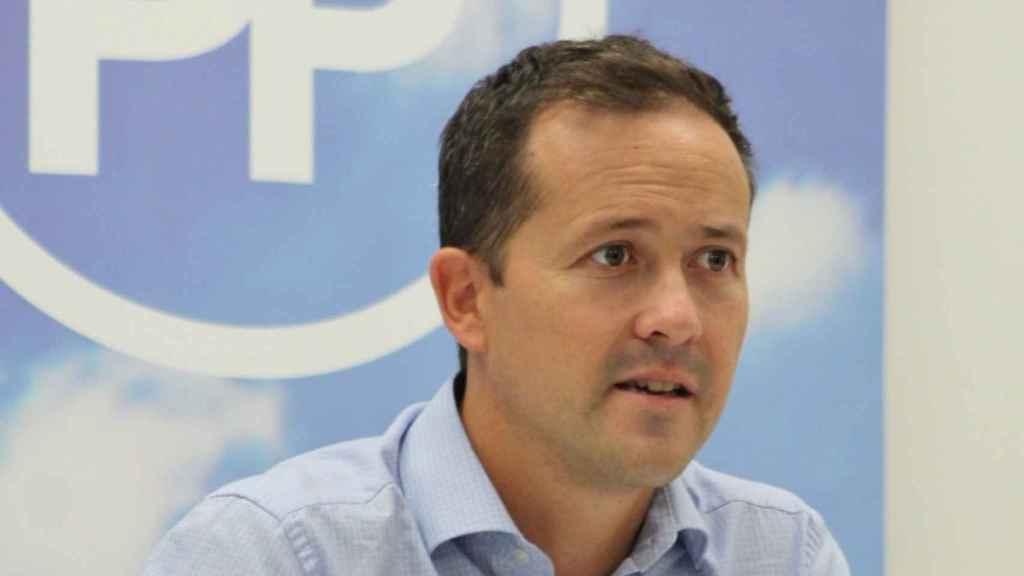 Carlos Velázquez, presidente del PP de Toledo