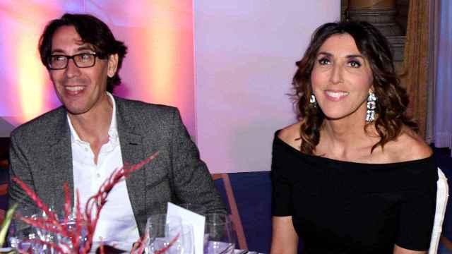 Antonio Vidal y Paz Padilla, en un evento en Marbella en 2019.