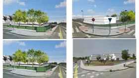 Simulación del proyecto de la residencia de mayores de Vistahermosa.