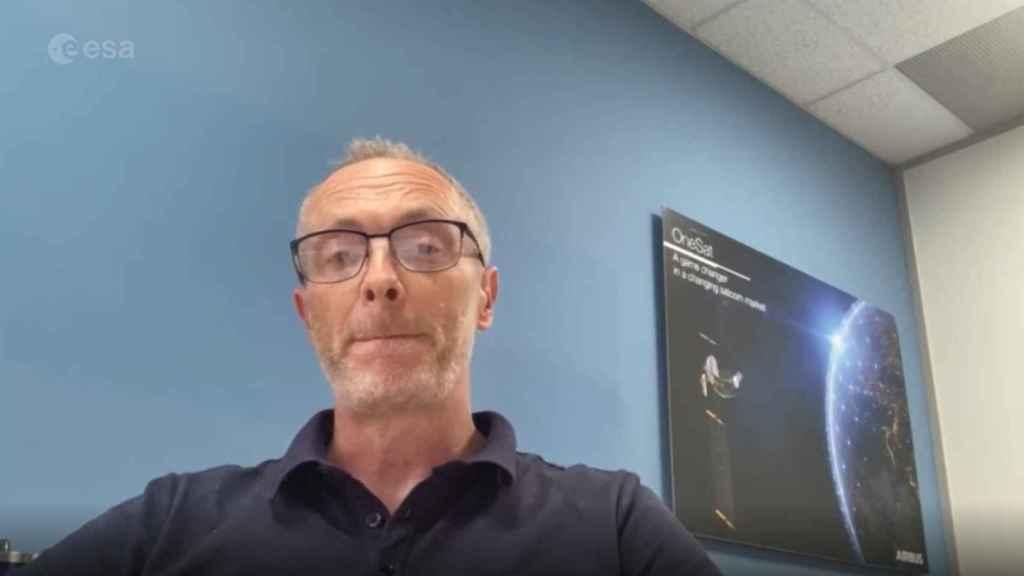 Paul Gidney, jefe de 'contenidos' [payload] de Airbus UK.