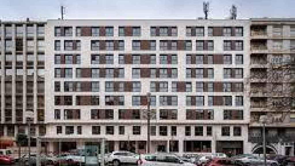 Edificio de 120 apartamentos en Vitoria.