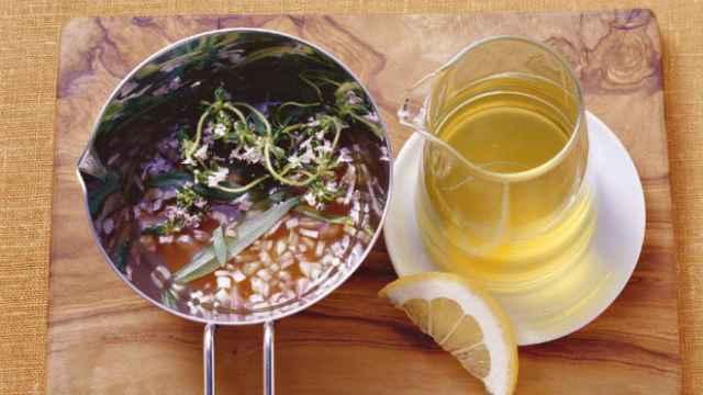 Vinagreta de aceite de oliva.