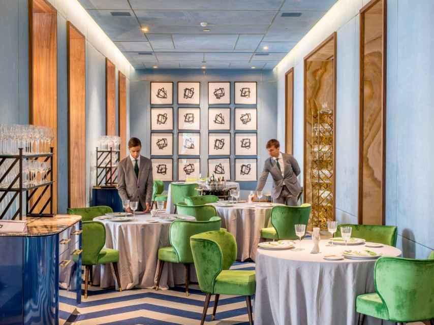 El Salón Azul de Coque