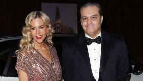 El presentador Ramón García y su todavía mujer, Patricia Cerezo, en una imagen de archivo.
