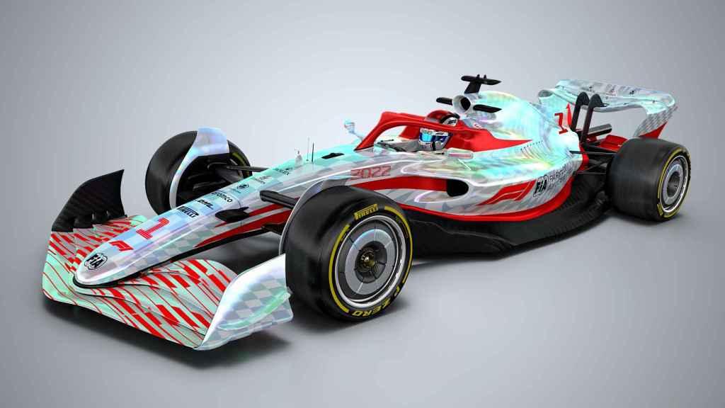 El nuevo modelo de Fórmula 1 para 2022
