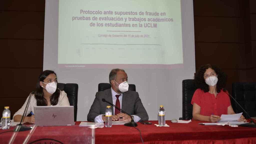 Este jueves se ha celebrado Consejo de Gobierno en la Universidad de Castilla-La Mancha