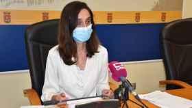 Flora Bellón, portavoz del Ayuntamiento de Talavera de la Reina (Toledo)