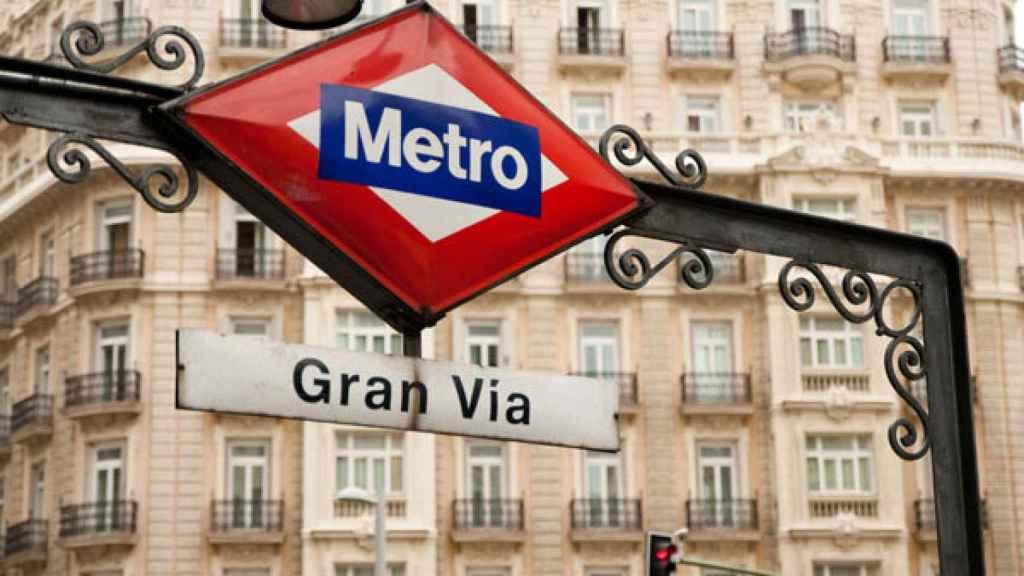 Estación de Metro de Gran Vía, en Madrid. Efe