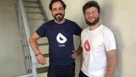 Pablo Filomeno y Mauro Gadaleta son los cofundadores de la startup Feeder.