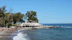Los Baños del Carmen forman el mascarón de proa del litoral malagueño.