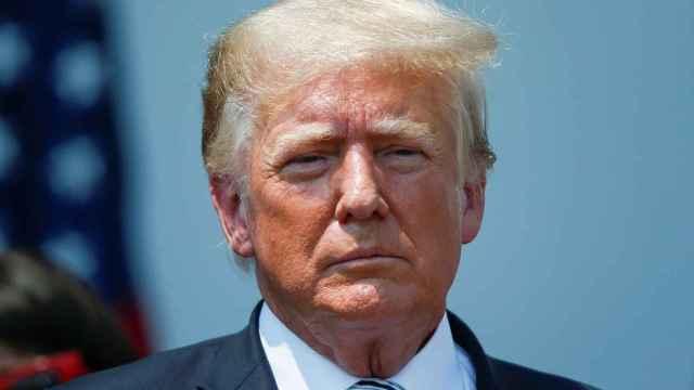 El ex presidente de Estados Unidos Donald Trump.