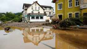 Las inundaciones al oeste de Alemania.
