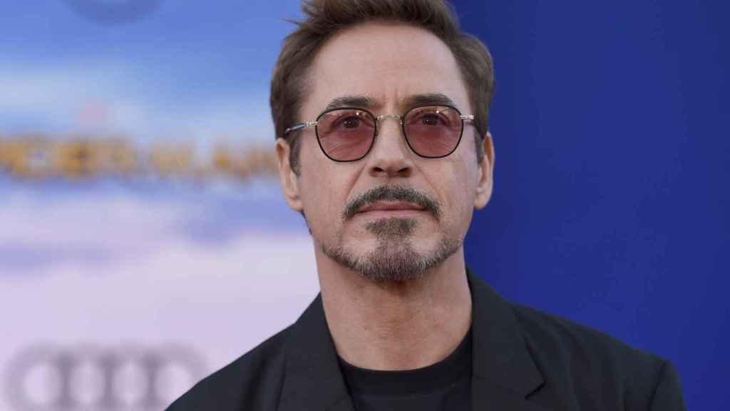 Robert Downey Jr. en la premiere de 'Spider-Man: Homecoming'.