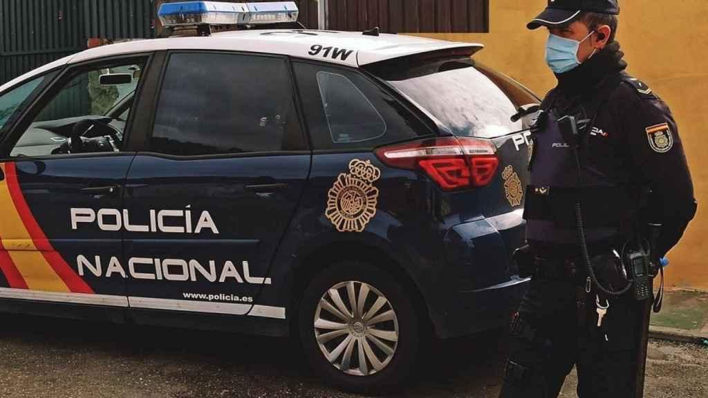 Una imagen de uno de los coches de la Policía Nacional.