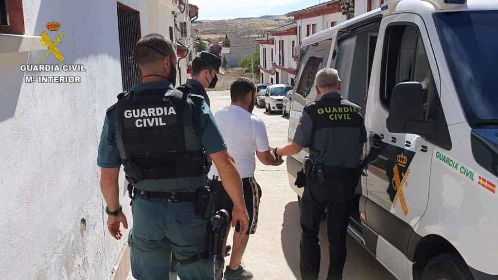 Operación de la Guardia Civil en Alcaudete