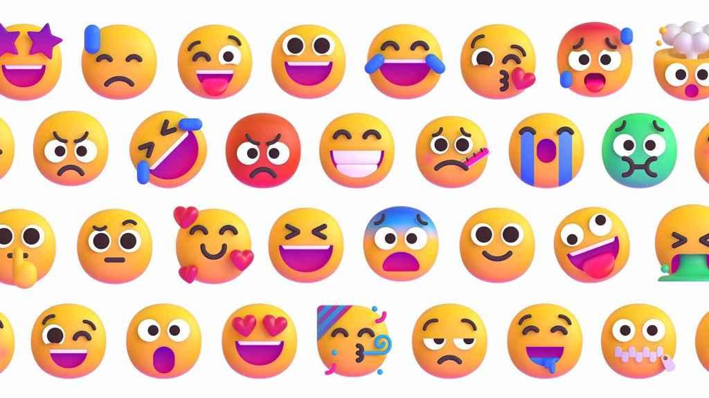 Emojis de Microsof.