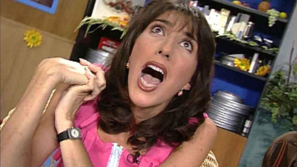 Paz Padilla en su debut en '¡Qué me dices!'