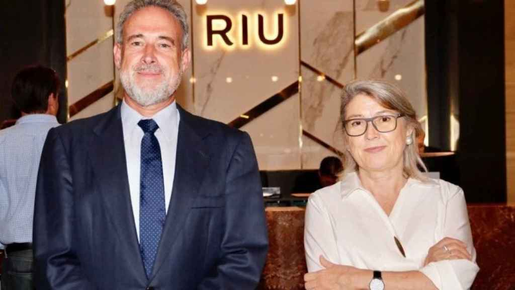 Luis y Carmen Riu. Foto: Riu.
