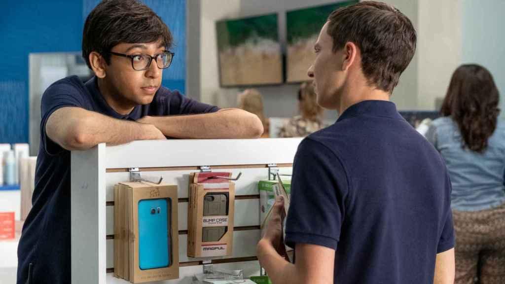 Zahid y Sam en 'Atípico'.