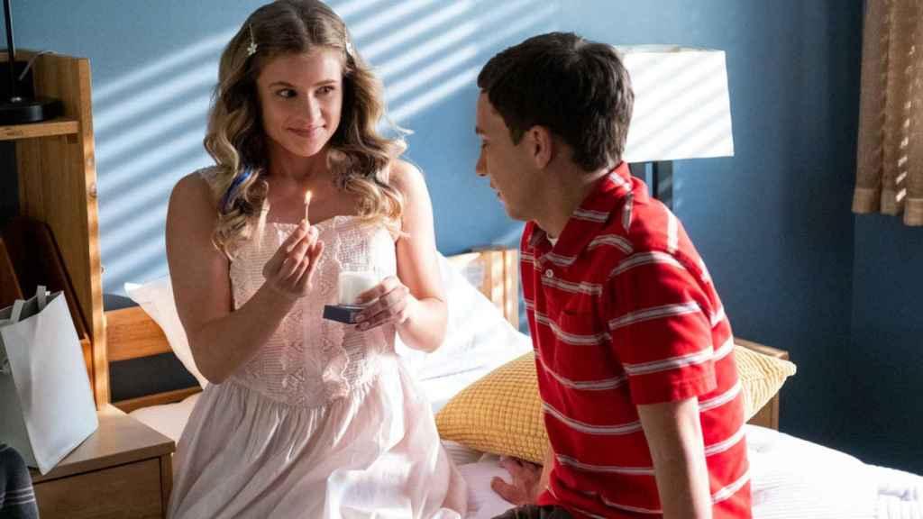 Paige y Sam en la primera temporada de 'Atípico'.