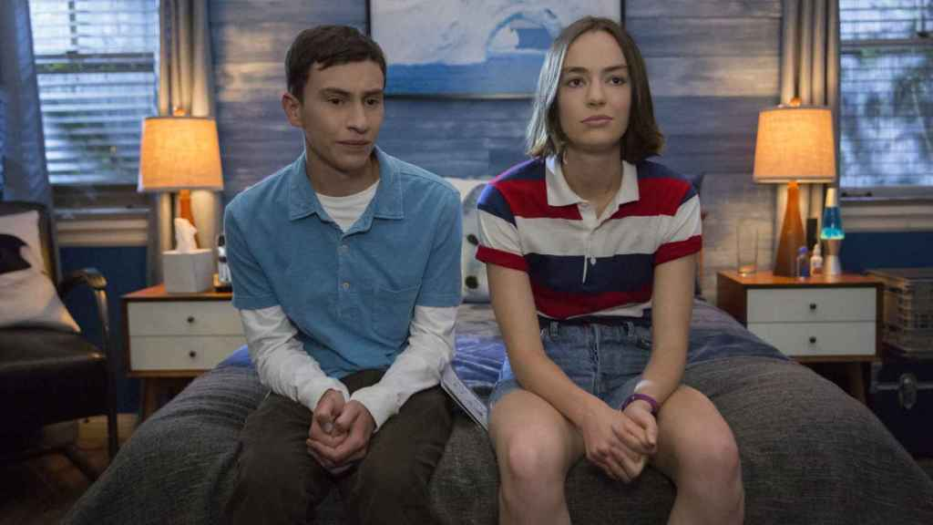 Sam y Casie en 'Atípico'.