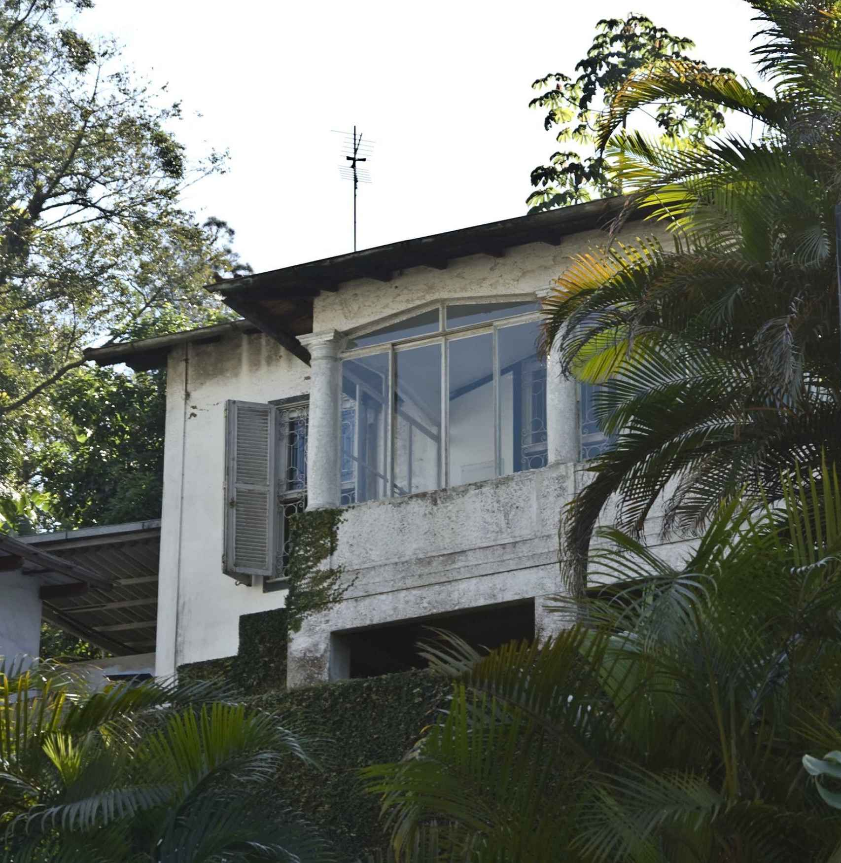 El último hogar del escritor en Petrópolis