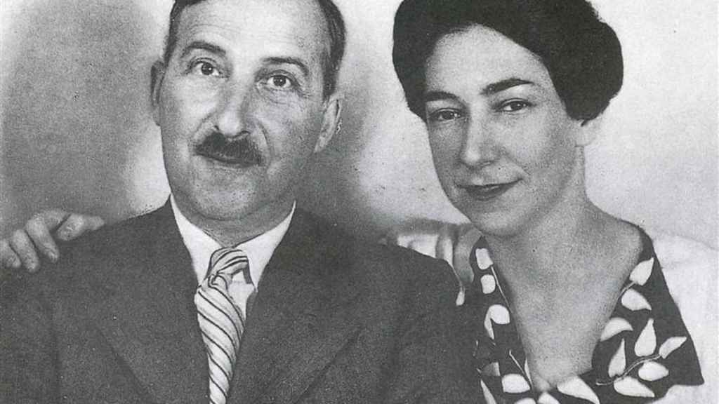 Stefan Zweig y Lotte Altmann