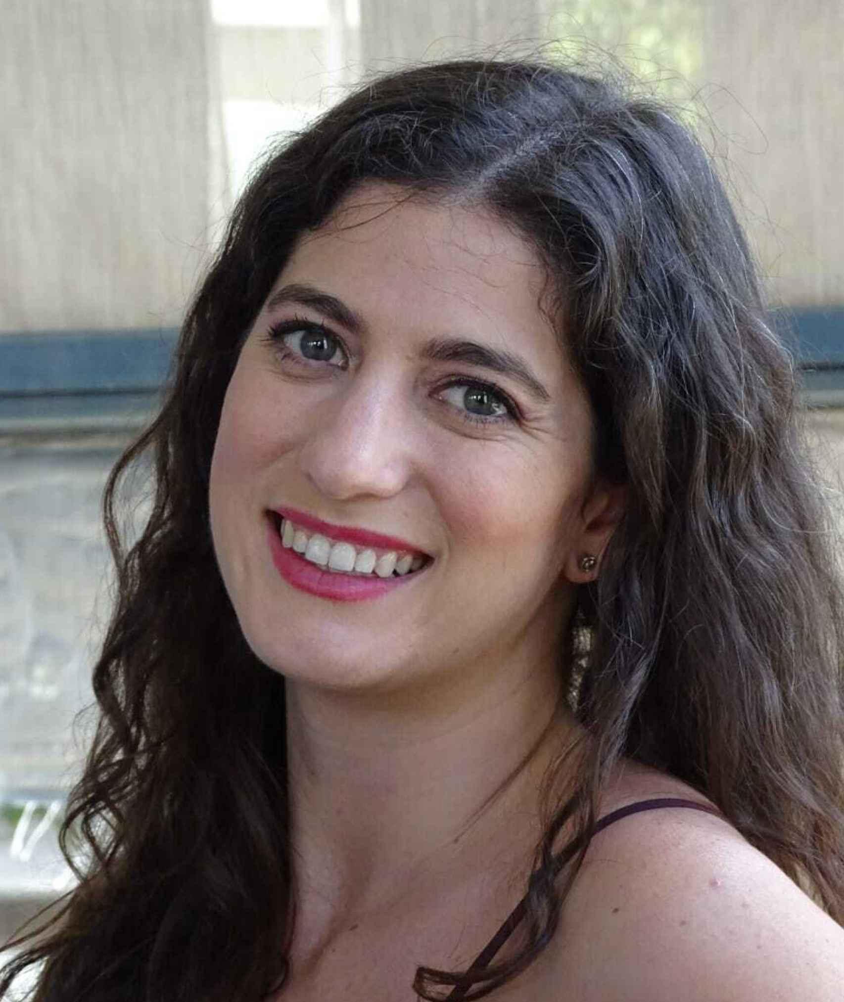 La doctora Alba Olivares.