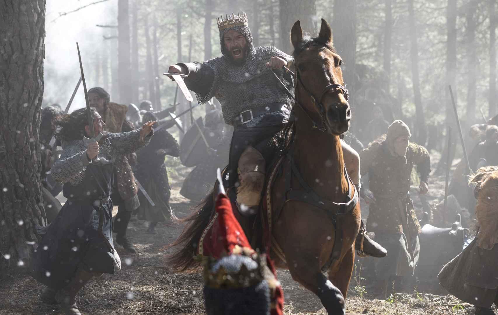 Francisco Ortiz interpreta al rey Sancho II de Castilla.