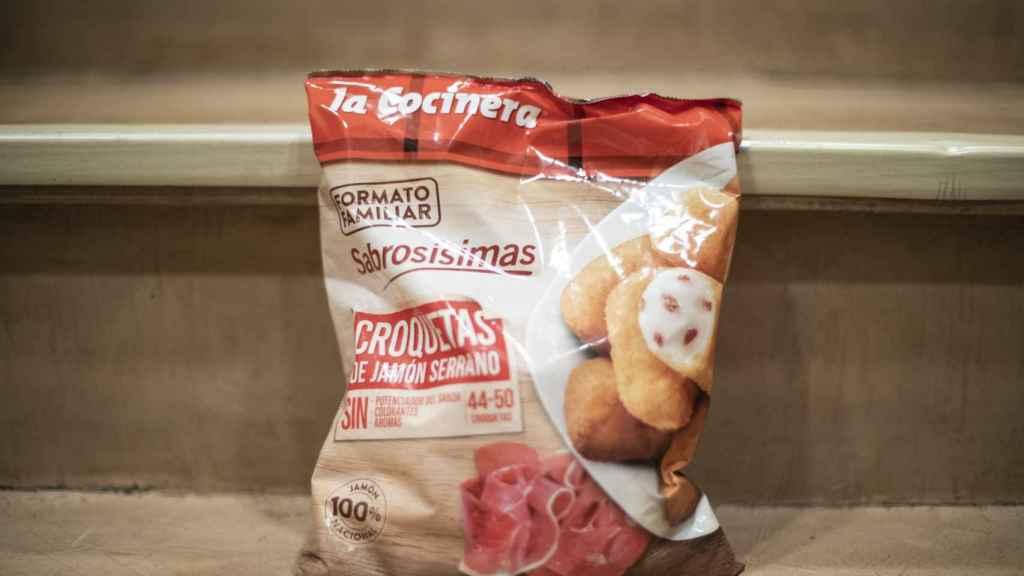 El paquete de croquetas de La Cocinera.