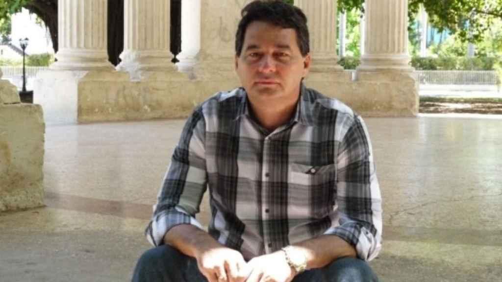Santiesteban, disidente cubano.