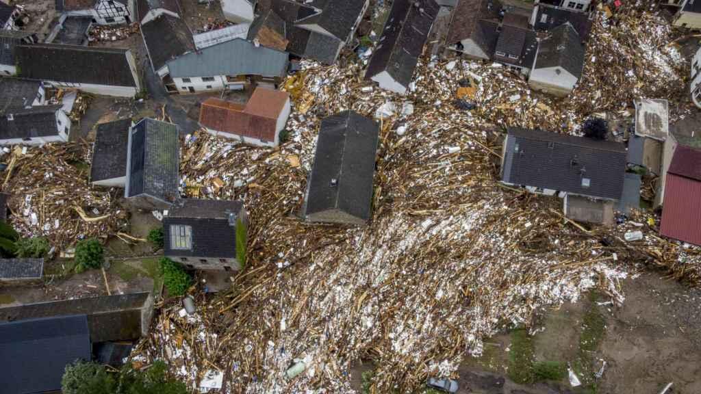 Inundaciones en Schuld, Alemania.