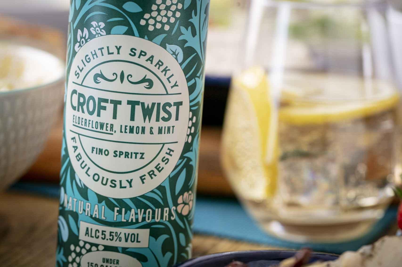 Croft Twist, la versión inglesa del rebujito andaluz.